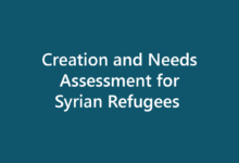 Database Creation and Needs Assessment for Syrian Refugees in Armenia