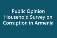 Public opinion household survey on corruption in Armenia