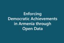 Enforcing Democratic Achievements in Armenia through Open Data