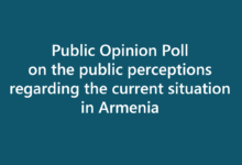 Public Opinion Poll on the public perceptions regarding the current situation in Armenia