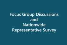 Focus Group Discussions and Nationwide Representative Survey